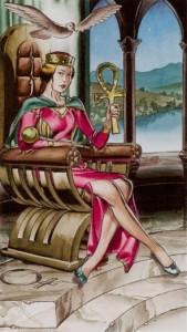3 Императрица Таро Ритуалы Ордена Золотой Зари - галерея карт