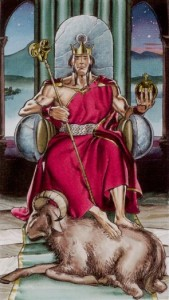 4 Император Таро Ритуалы Ордена Золотой Зари - галерея карт