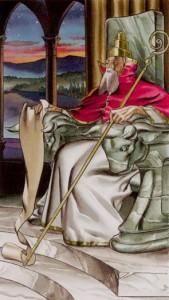 5 Жрец Таро Ритуалы Ордена Золотой Зари - галерея карт