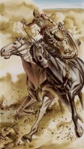 7 Колесница Таро Ритуалы Ордена Золотой Зари - галерея карт