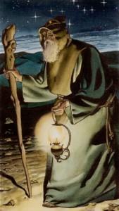 9 Отшельник Таро Ритуалы Ордена Золотой Зари - галерея карт